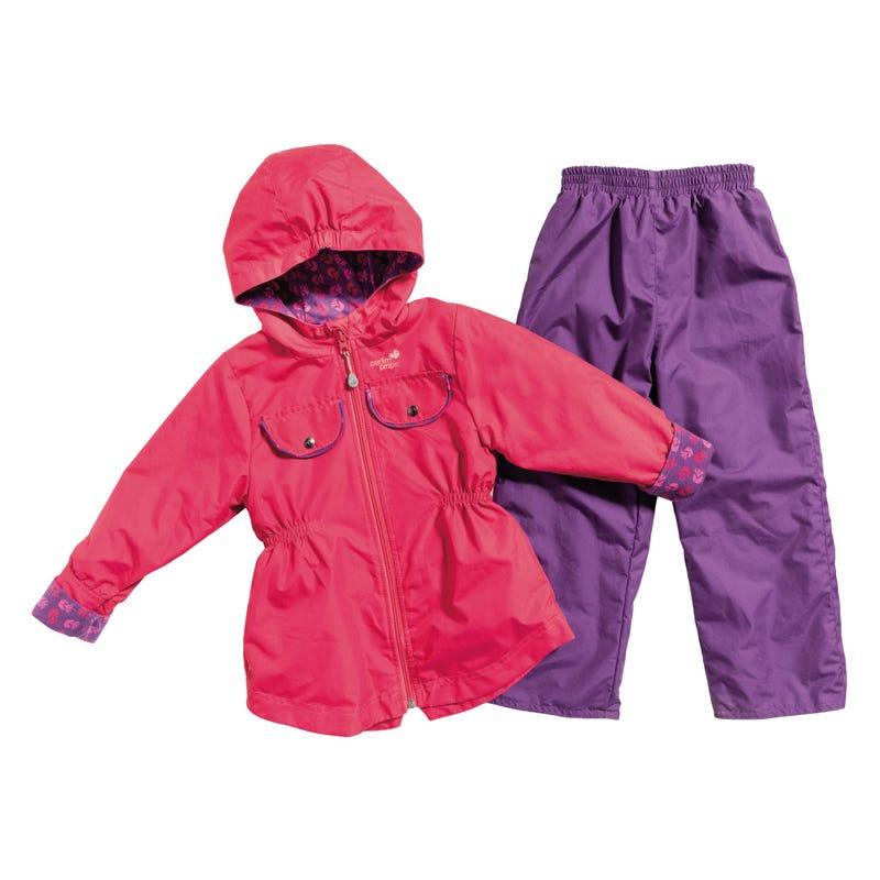 2-Pieces Outerwear Kit 12-24m - Fuschia