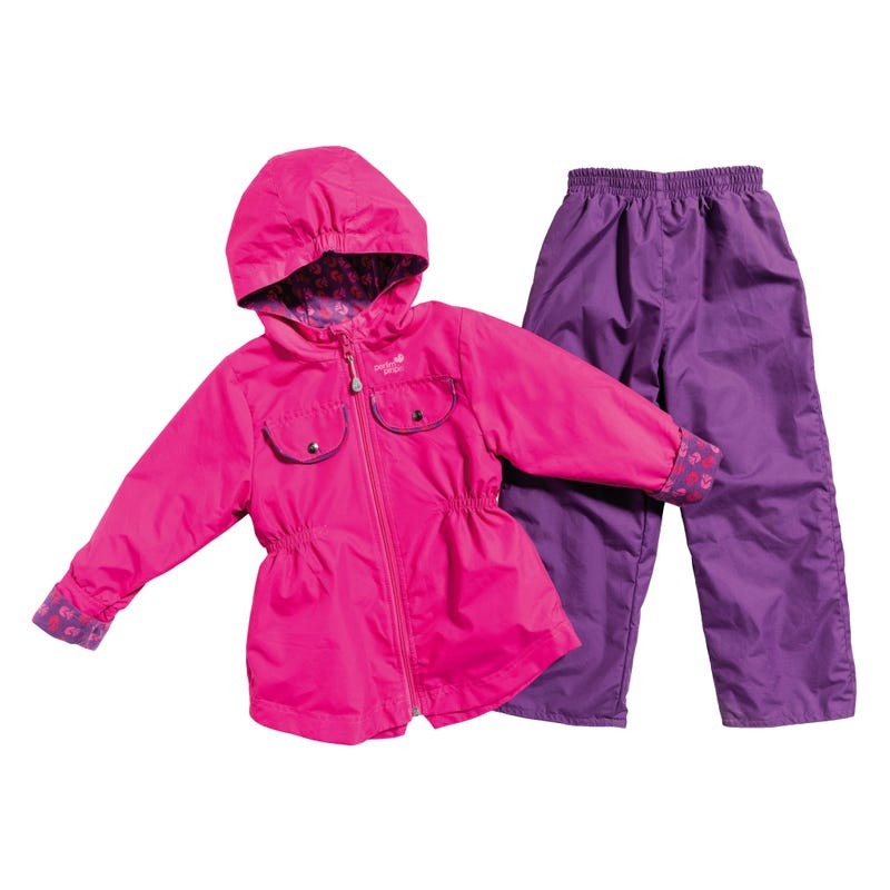 2-Pieces Outerwear Kit 2-6y - Pink