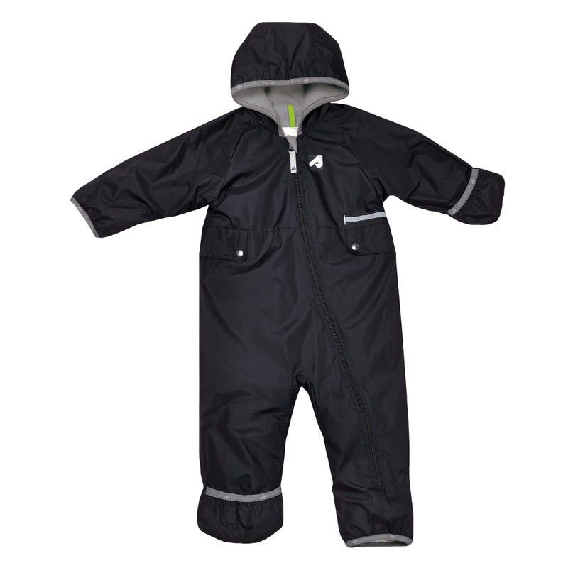 Black 1 Piece Outerwear 0-24m