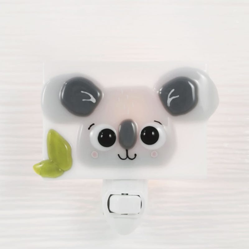 Glass Nightlight - Billie The Koala