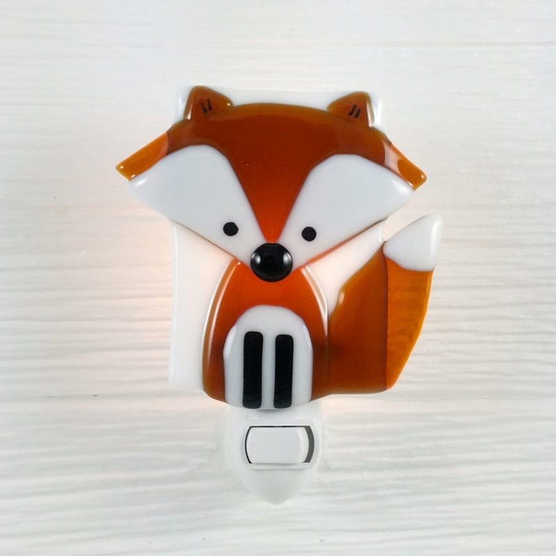 Glass Nightlight - Gaspard Fox