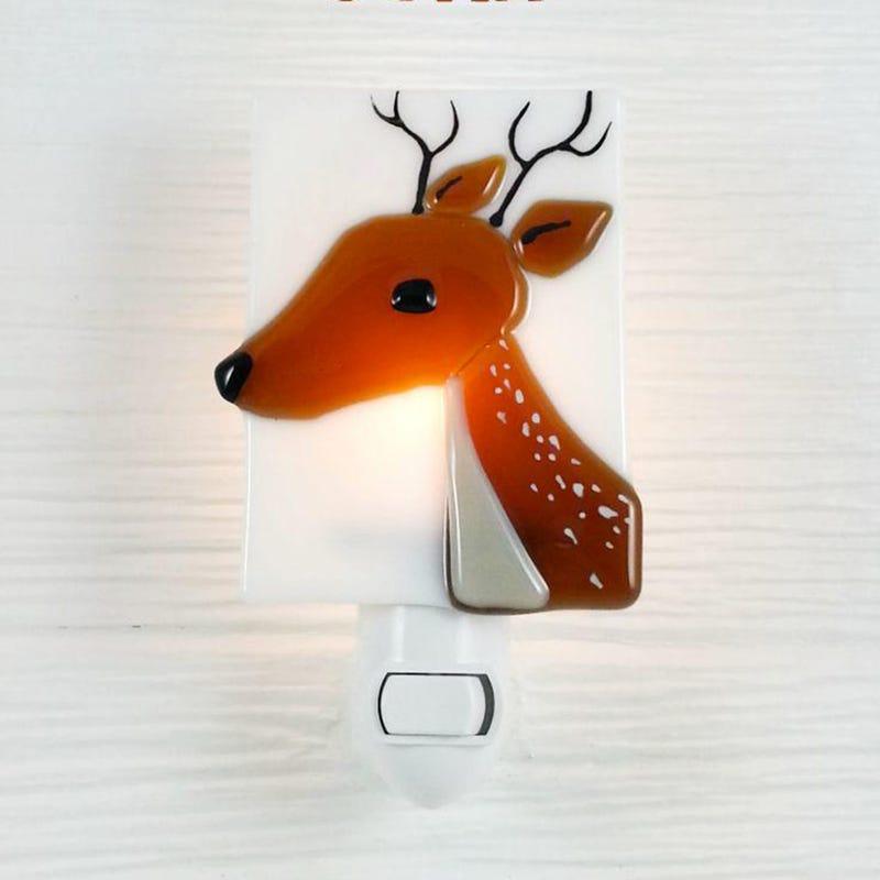 Glass Nightlight - John The Deer