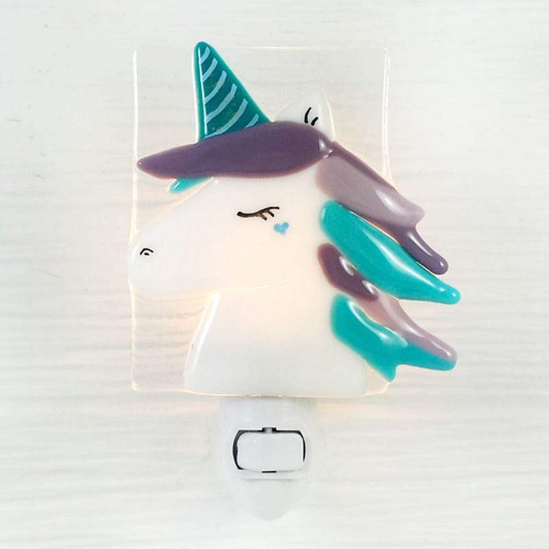 Glass Nightlight - Unicorn