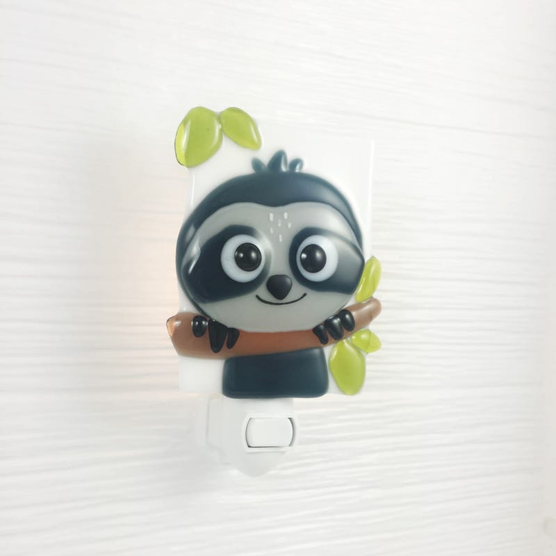 Glass Nightlight - Sam Sloth