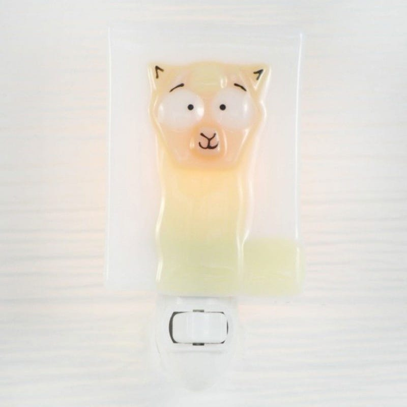Glass Nightlight - Serge Alpaga