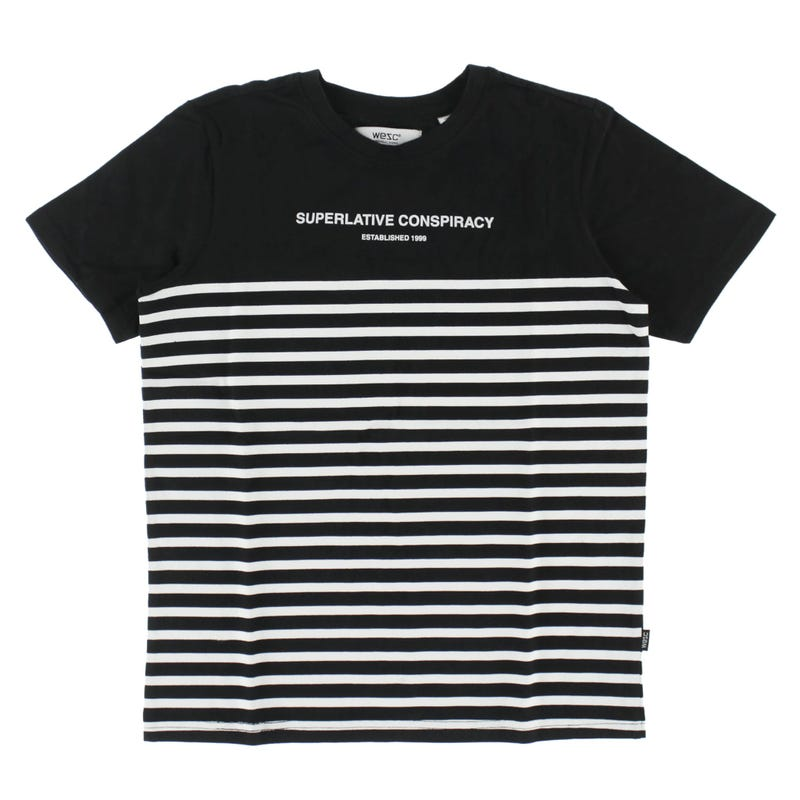 T-Shirt Rayé Wesc 8-16ans