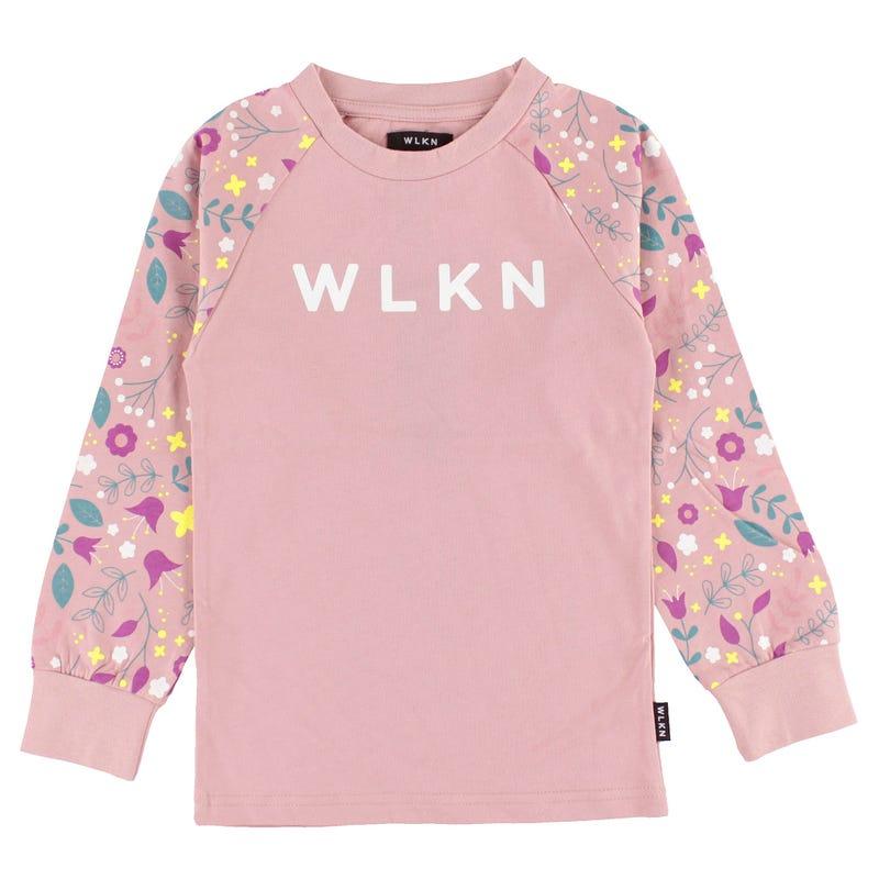 T-shirt Raglan Floral 2-14ans