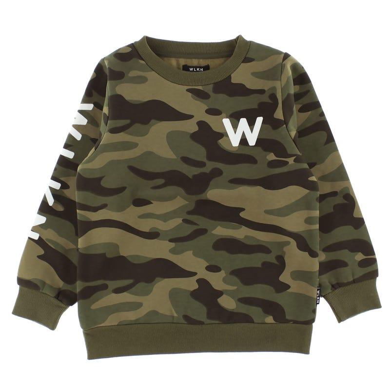 Wlkn Camo Sweatshirt 2-14