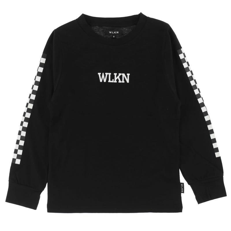 T-Shirt à Manches Longues Checker WLKN 2-14ans