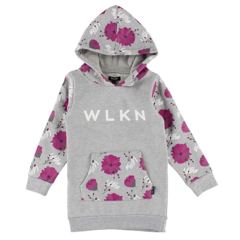 Kangourou Long Fleur WLKN 2-14ans