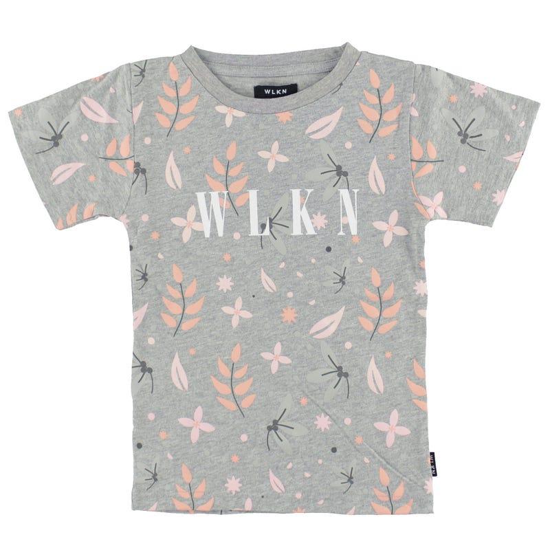 T-Shirt Imprimé Feuilles 2-14ans