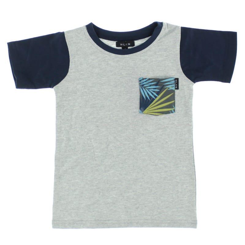 T-Shirt à Poche Feuillage 2-14ans