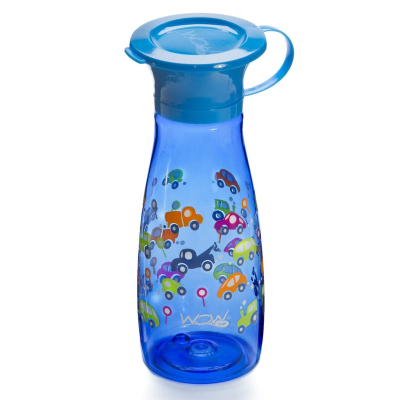 12oz 360 Degree Mini Bottle - Blue Cars