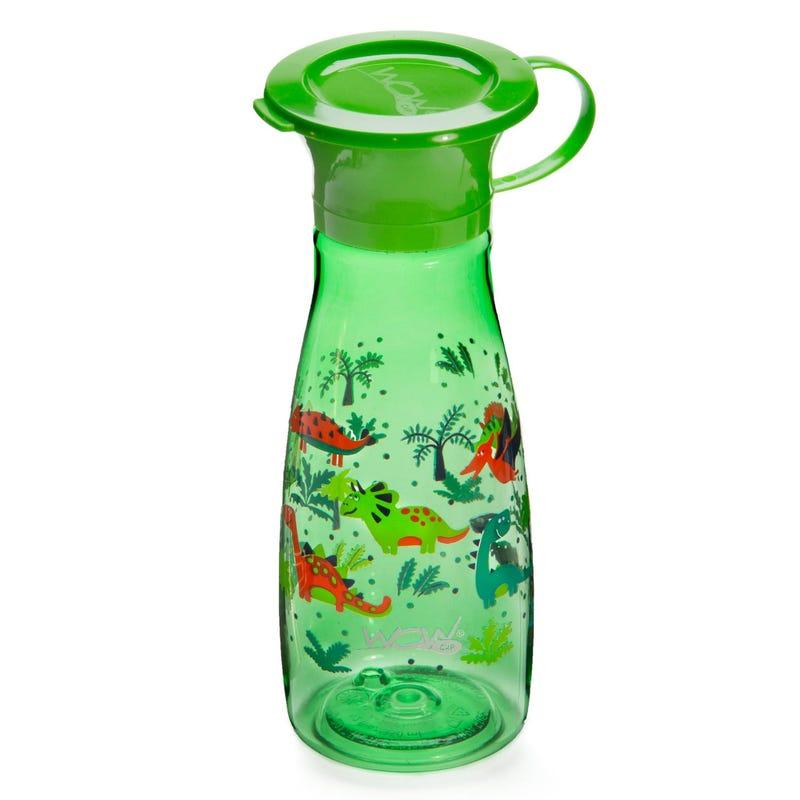 12oz 360 Degree Mini Bottle - Green Dinosaurs