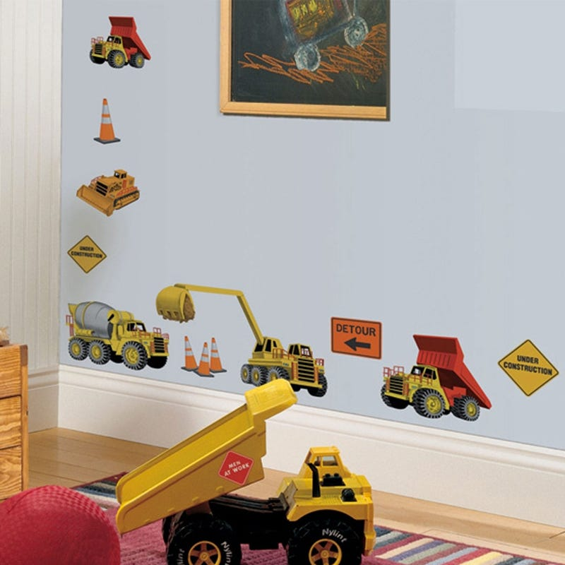 Wall Stickers - Construction