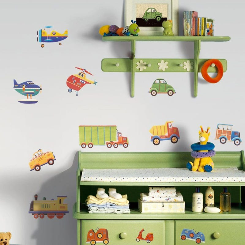 Wall Stickers - Transport