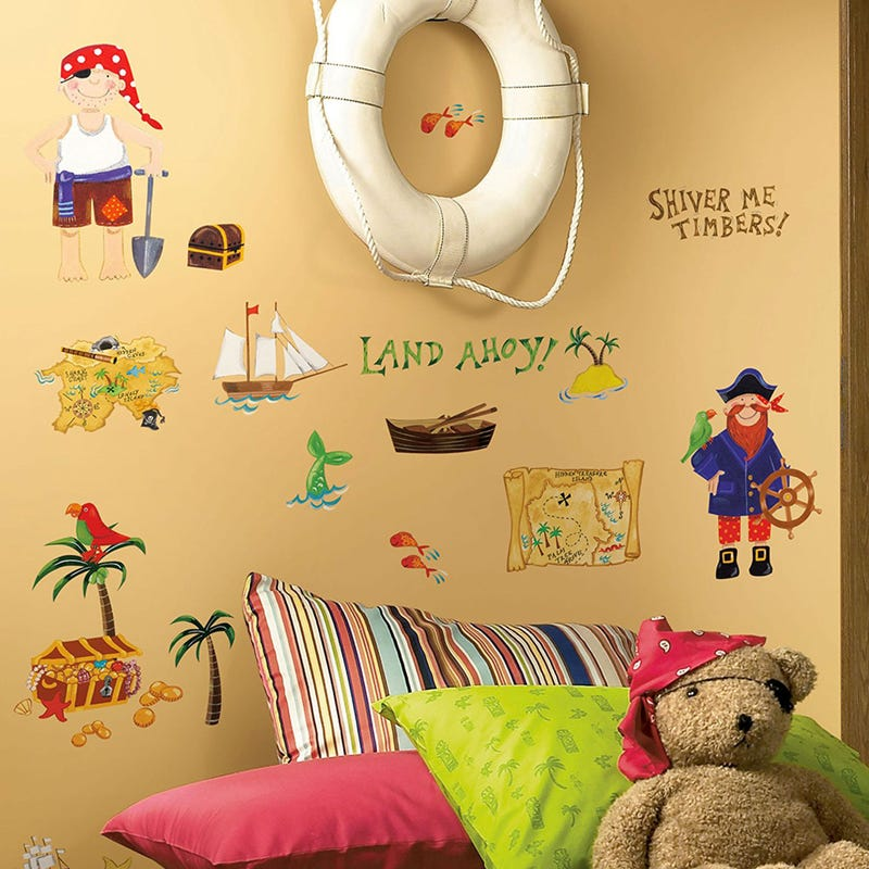 Wall Stickers - Pirates