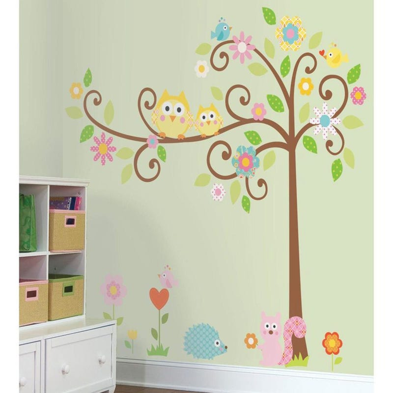 Wall Stickers - Flower Trees