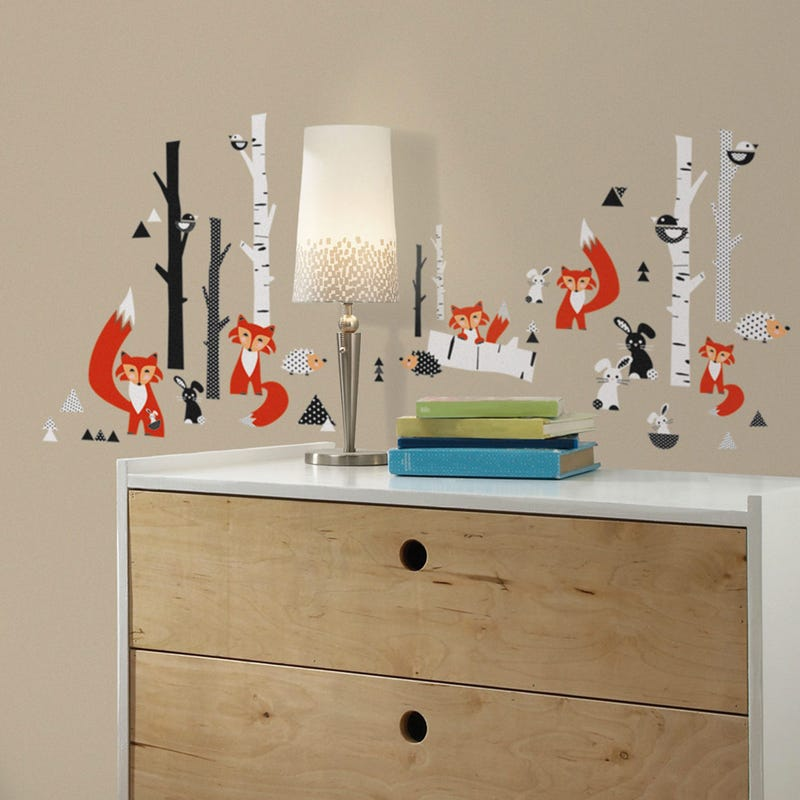 Wall Stickers - Fox & Tree