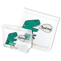 Sacs Réutilisables pour Lunch Ziptuck Paquet de 2 - Dinosaures