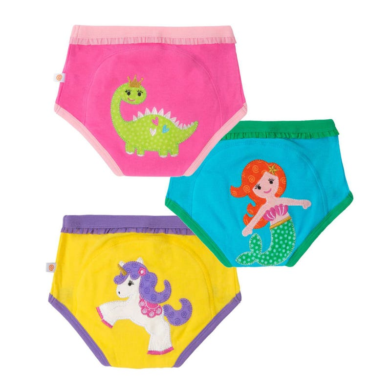 Training Underwear Set of 3 2-3y