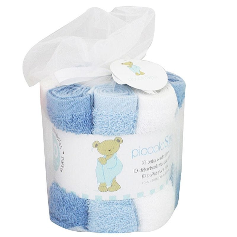 Washcloths Set of 10- Blue