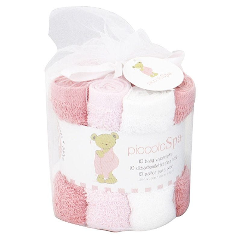 Washcloths Set of 10 - Pink