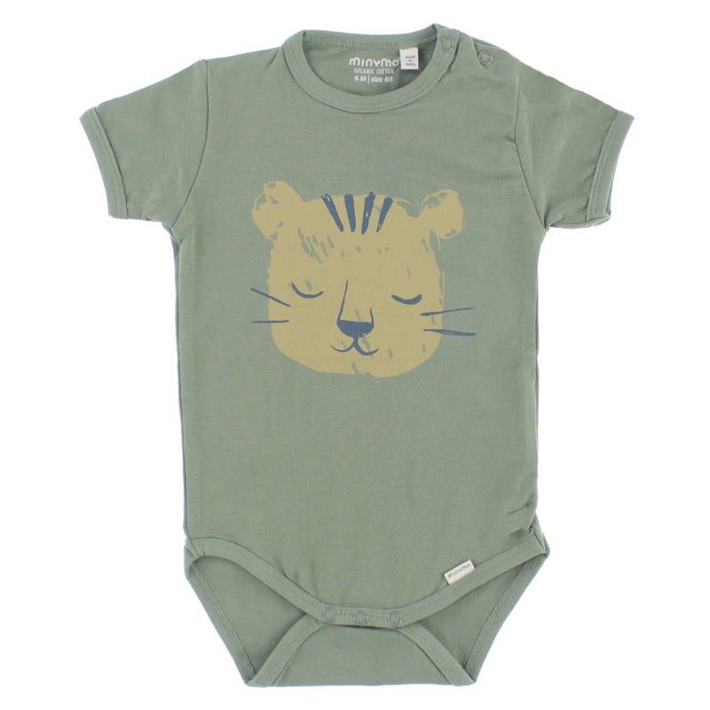 T-shirt 1 Pièce Tigre Savane 6-24mois