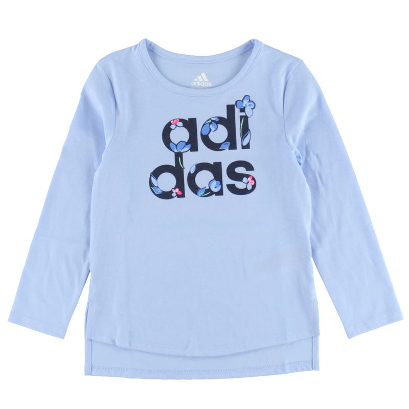 T-Shirt Manches Longues Curved Hem 4-6ans