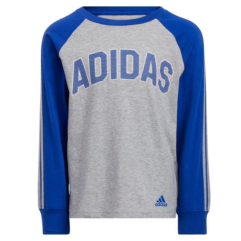 T-Shirt Manches Longues Raglan Stripes 4-7ans