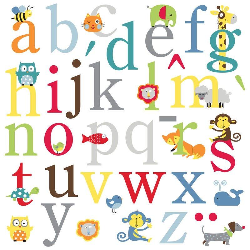Multicolored Animals Stickers