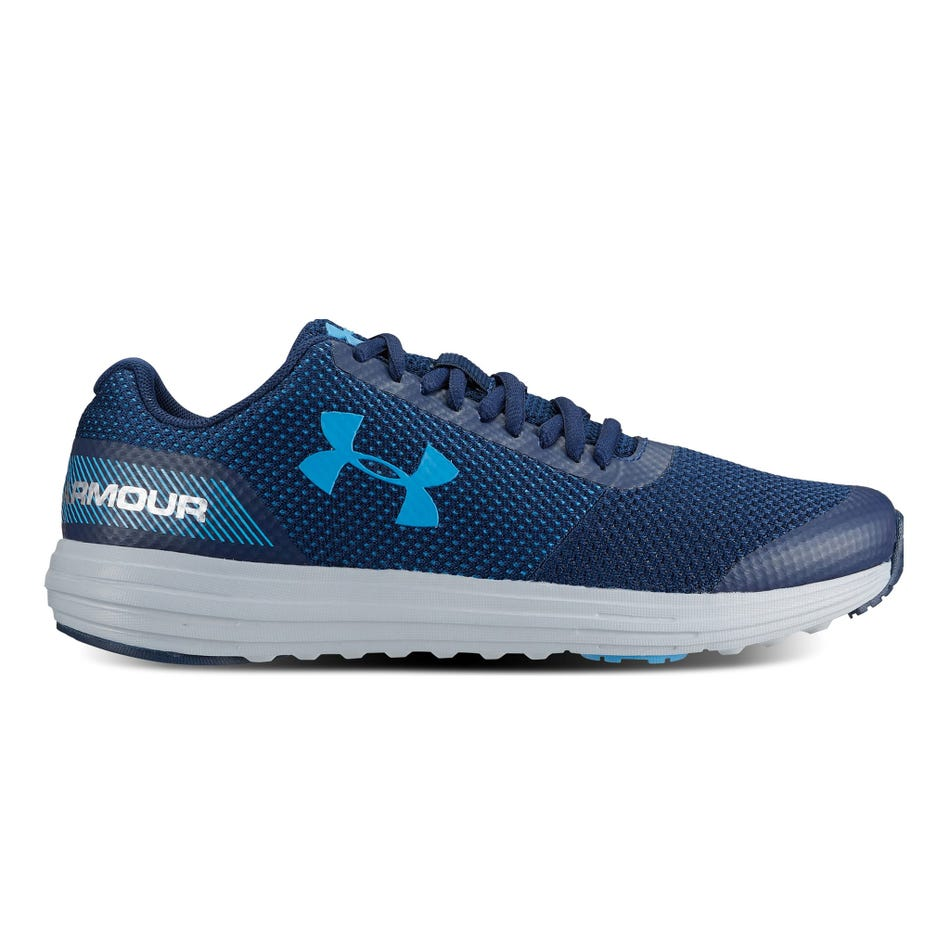 47e56162c1 Under Armour Surge RN Running Shoes Sizes 4-7 - Navy Blue - Clement