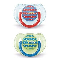 Pacifiers 6-18months Set of 2