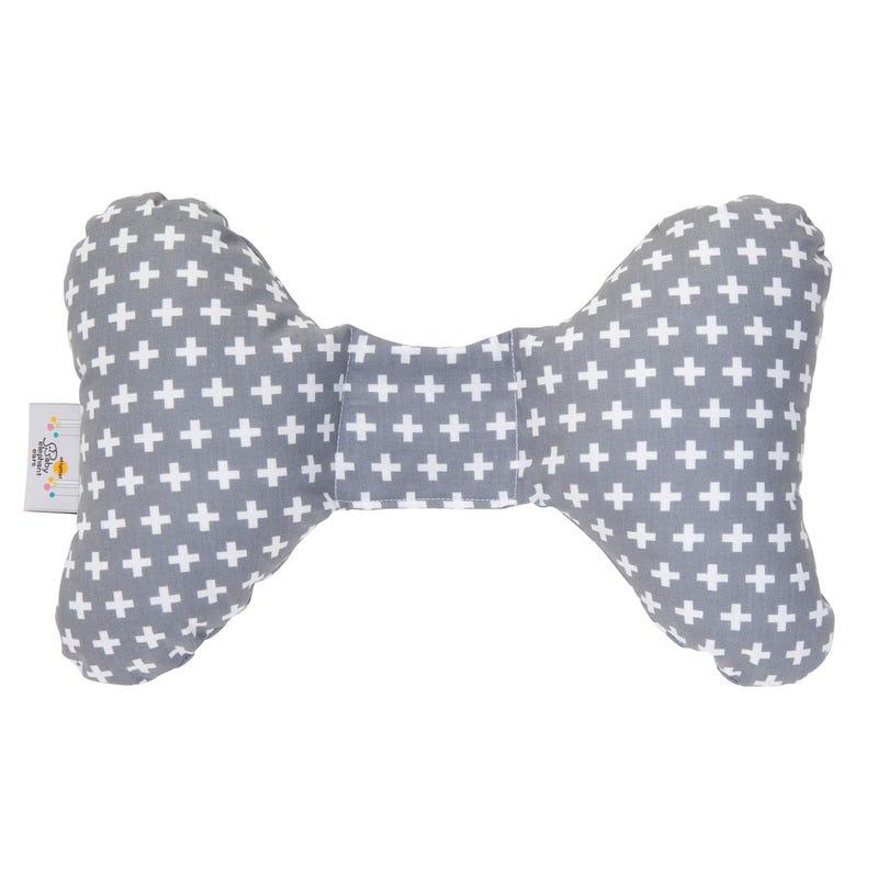 Gray Cross Ear Head Support