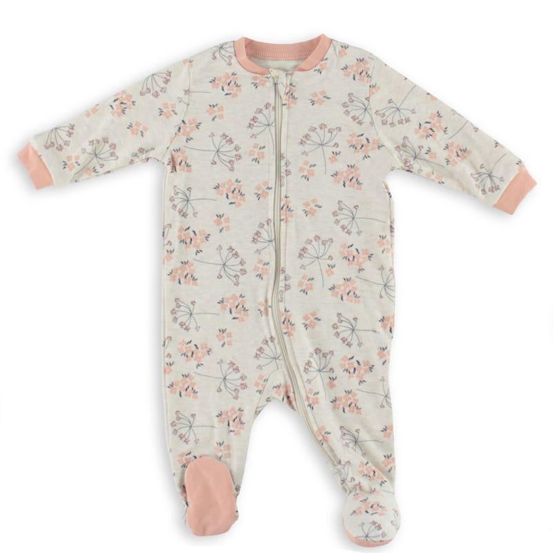 Pyjama Fleurs Poires 0-30mois