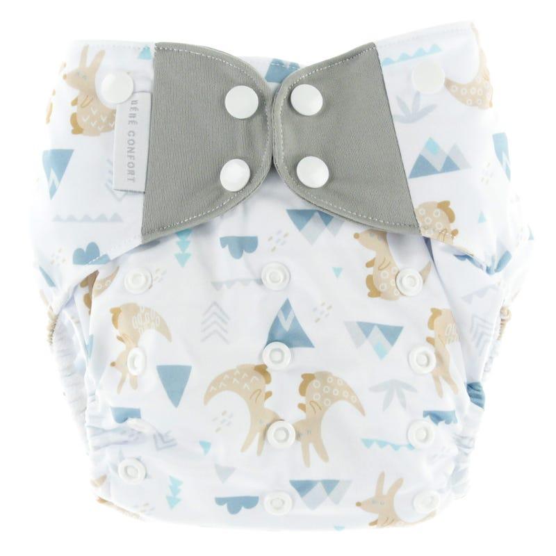 Cloth Diaper 10-35lb - Cachou