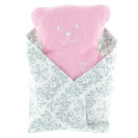 Bear Conforting Cushion - Pink
