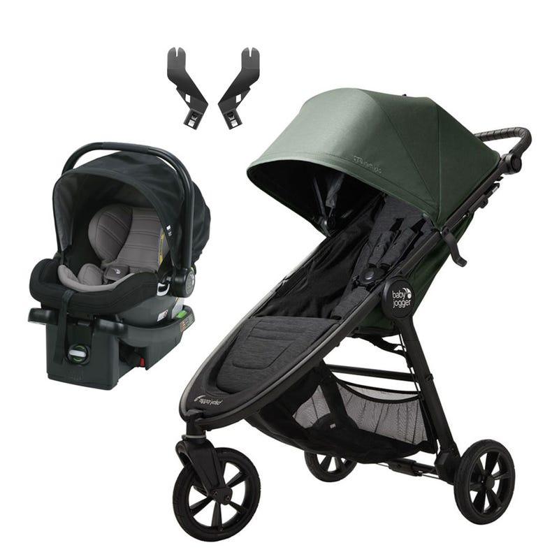 Système de voyage Mini GT2 + City Go - Vert/Noir