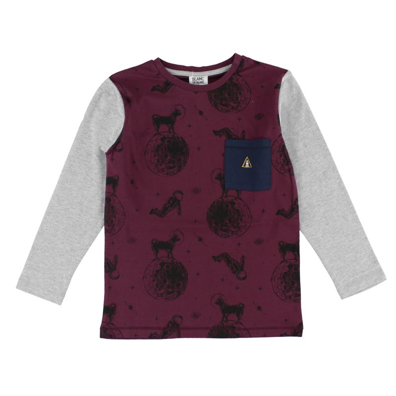 T-Shirt Poche Espace 2-8