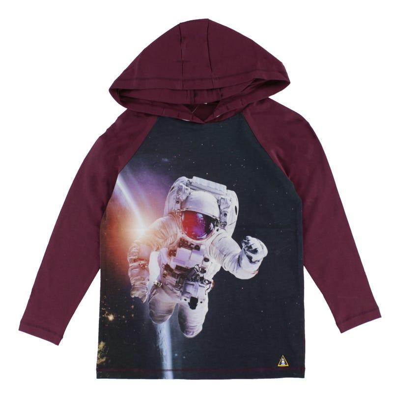 T-Shirt Capuchon Espace 2-8