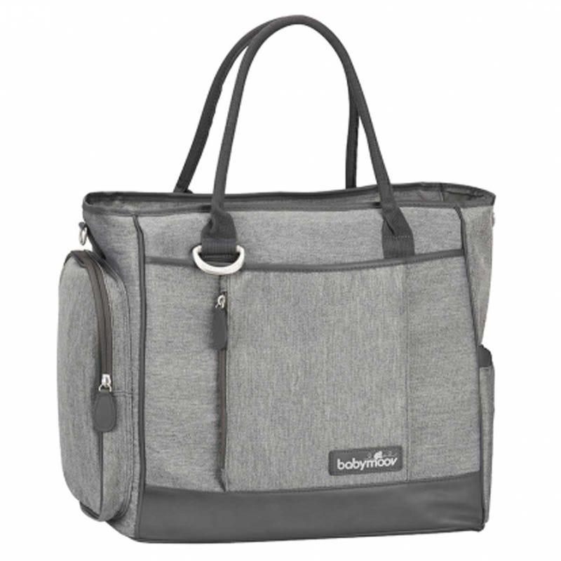 Essential Diaper Bag - Smokey Gray