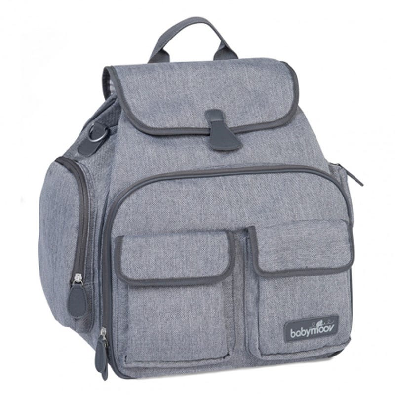 Glober Diaper Bag - Smokey Gray
