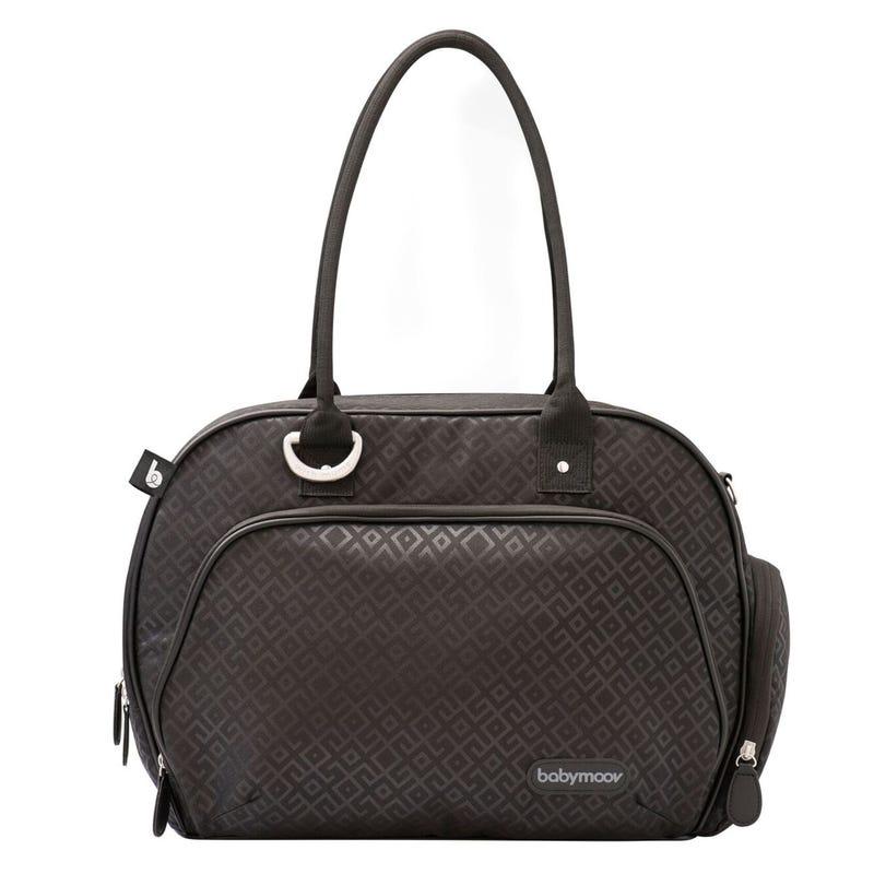 Trendy Diaper Bag - Black