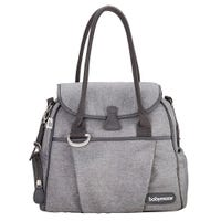 Sac à Couches Style - Gris