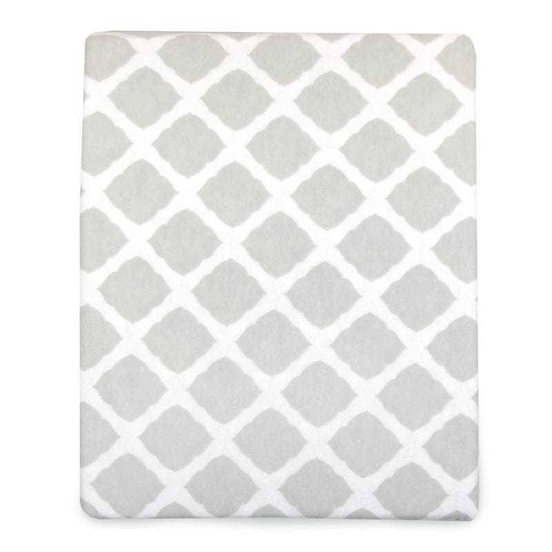 Playpen Fitted Sheet - Gray