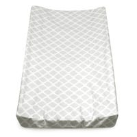 Changing Pad Cover - Gray Diamonds