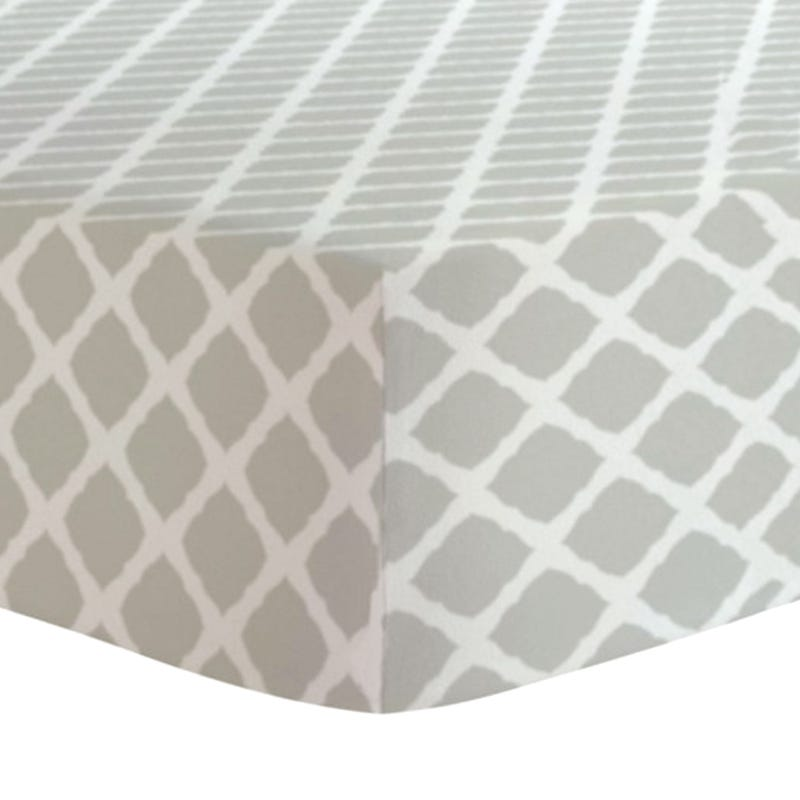 Fitted Sheet - Taupe