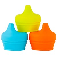 Universal Silicone Sippy Lid Set of 3