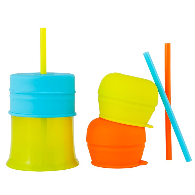 Universal Silicone Straw Set of 3