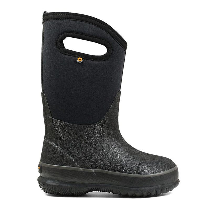 Winter Boots Classic Handles Sizes 7-6 - Black